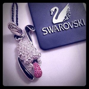 🐾 Genuine Swarovski Jeweled Pavé Pluto Charm!